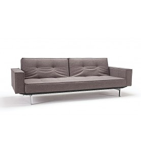 skandynawska sofa Splitback chrome-Innovation Living-Salon Meblowy Empir